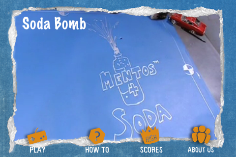 Screenshot MythBusters Soda Bomb iPhone and iPod Touch Edition