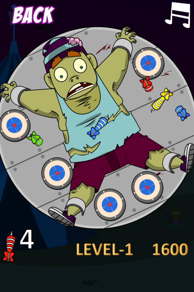 Screenshot Zombie Darts